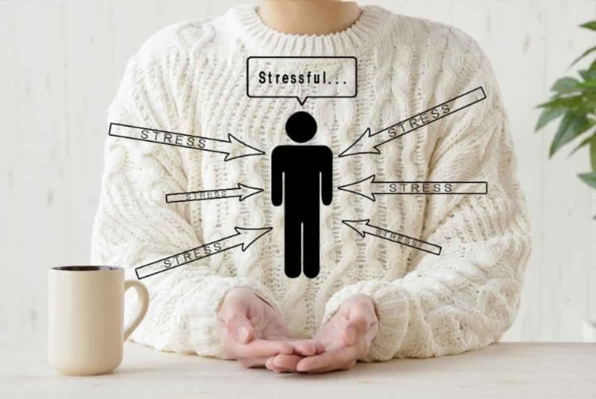 ストレスがメンタルヘルスを損なう