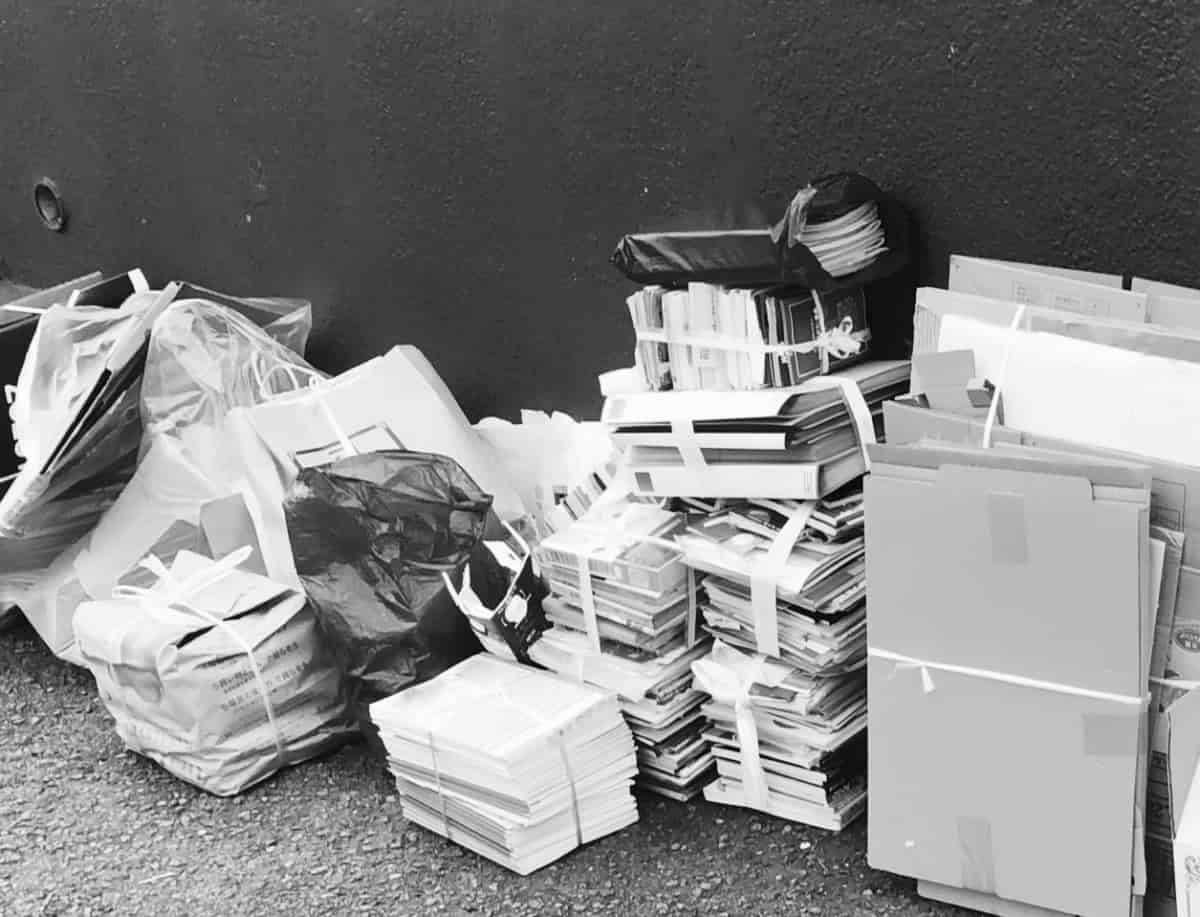 断捨離はゴミの量が多いと大変